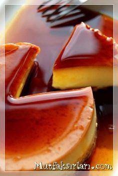 Krem karamel: fland by any other name. Turkish Recipes, Greek Recipes, Food Network Recipes, Food Processor Recipes, The Kitchen Food Network, Chocolate Deserts, Greek Desserts, Mediterranean Dishes, Arabic Food
