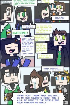 Minecraft Story Mode: POWER Part 1 by PrettyXTheXArtist