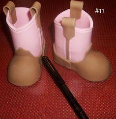 Baby Cowboy Boots Tutorial