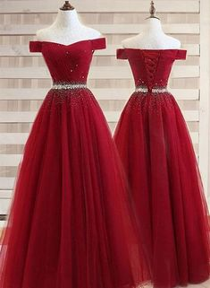 Burgundy A line Off the shoulder Sweetheart Prom Dresses, Beads Evening Dresses . Burgundy A line Off the shoulder Sweetheart Prom Dresses, Beads Evening Dresses – # Pretty Homecoming Dresses, Junior Prom Dresses, Pretty Dresses, Sexy Dresses, Beautiful Dresses, Evening Dresses, Elegant Dresses, Summer Dresses, Cheap Dresses