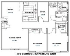 Traditional Garage Plan Garage Apartment Floor Plans