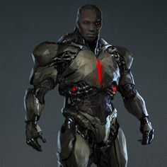 Justice League Cyborg , Ville-Valtteri Kinnunen on ArtStation at https://www.artstation.com/artwork/26Eoe