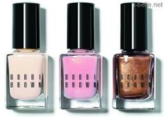 Spring 2014: Bobbi Brown Nude Glow Collection - Nail Polishes
