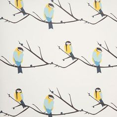 Perfect papers for kids' rooms that don't sacrifice on style Juneberry &Bird Wallpaper at Lorna Syson