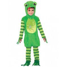 Cartoon Animal Cute Frog Prince Kids Costume (2T-4T)