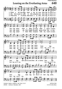 Leaning on the everlasting arms - Hymnary.org