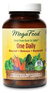 Multi-vitamin recommended by Dr. Weil.  MegaFood_OneDaily. Available at Whole Foods