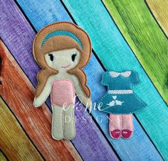 Felt Doll – Lily and Outfit