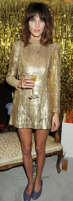If We Could Raid Alexa Chung's Closet, We'd Take This Dress!