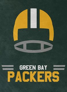 Green Bay Packers Vintage Art Art Print by Joe Hamilton. All prints are professionally printed, packaged, and shipped within 3 - 4 business days. Choose from multiple sizes and hundreds of frame and mat options. Green Bay Packers Logo, Green Bay Packers Wallpaper, Dallas Cowboys Wallpaper Iphone, Here We Go Steelers, Steelers Sign, Steelers Stuff, Hamilton Wallpaper, Joe Hamilton, Go Pack Go