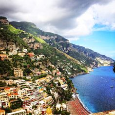 Positano on the Amalfi Coast, Italy