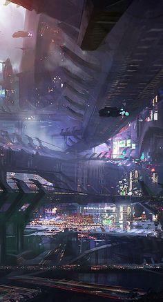 Sci - fi art