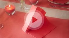 Napkin folding movies - Napkins - Products - For your home - www.Duni.com