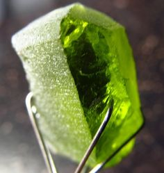 18 ct Arizona San Carlos Bright Apple Green Peridot Facet Cab Gem Rough Gemstone