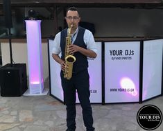 YOUR DJS wedding coctail and intro music with saxophone live Wedding Parties, Saxophone, Live, Music, Party, Wedding Showers, Musica, Musik, Saxophones