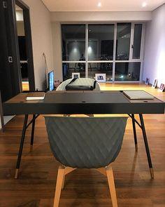New Home new desk @boconcept_official first piece of furniture. Still feels empty ... #boconcept #desk #home #homeoffice #mycrib #getinspired #ideas #architecture #interiordesign #studio #badmx #picoftheday #instapic #instagood