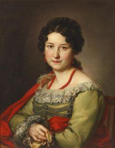 Señora de Vargas Machuca - (1840) Vicente López  Museo Nacional del Romanticismo-Madrid