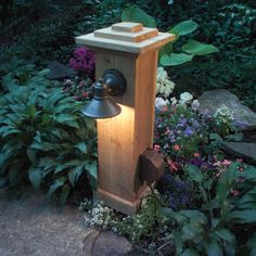 How to Install Outdoor Lighting and Outlet  Underground wiring puts light and power anywhere in the yard. We'll show you how to do it easily and safely. I SO WANT TO DO THIS AS SOON AS SPRING HITS THIS YEAR!!!