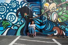 Model: Ivy Torres. Location: Kaka'ako. Honolulu HI. Camera: Nikon D3000. #Kakaako #PowwowHawaii #Honolulu