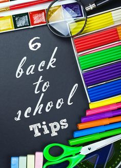 These 6 Back-to-School Tips will help you stay more organized this fall. From listing out lunch ideas to organizing your kids' clothes, these simple to-dos will help you feel more prepared for the school bell to ring.