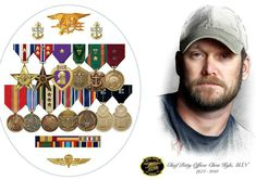 Happy Angel Birthday to Navy SEAL Chris Kyle. Chris would have been 42 years old today. Chris Kyle Sniper, Service Medals, Us Navy Seals, Navy Chief, Warrior Quotes, Military Veterans, Navy Veteran, American Soldiers, Special Forces