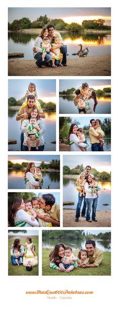 Collage familia daccarett cardona