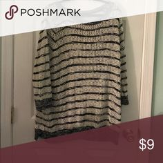 Striped sweater Doesn't have tag not sure where it's from but otherwise great condition Sweaters Crew & Scoop Necks