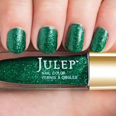 Priscilla:     Full-coverage multidimensional glitter.   Emerald for May is in honor of a woman who's lived a dozen lives and doesn't show any signs of slowing, Priscilla Presley.