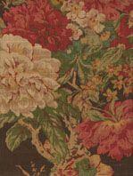 Ballad Bouquet/Sepia Floral Drapery Fabric. 9.95 per yard (home dec)