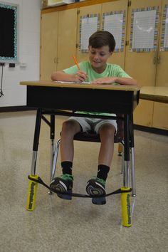 How to use DonorsChoose.org to raise funds for Bouncy Bands. Bouncy Bands help active learners move while they learn--not just for kids with ADHD, autism or learning disabilities. Bouncy Bands help students focus, stay on task, and enjoy learning.
