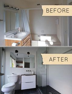 Bathroom Remodel Before And After 19