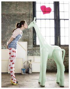 I <3 you, jirafa!