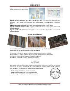 Documento de apoyo de colorimetria Colorista, Hair, Academia, Vestidos, Colored Hair Streaks, Hair Color Formulas, Hair Color Techniques, Colored Hair, Hair Type