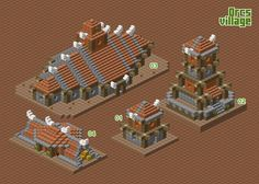 Orcs village - WIP by spasquini