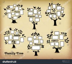 stock-vector-memories-tree-with-picture-frames-insert-your-photo-into-template-frames-collage-vector-450114733.jpg (1500×1330)