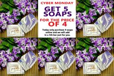 Purchase 4 soaps online and we will put a soap in just for you. Cyber Monday Specials, Little Cabin, O Canada, News Blog, Rocky Mountains, Soaps, Hand Soaps, Soap