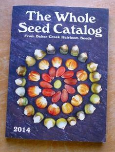 Baker Creek Heirloom Seeds has produced The Worlds Largest Seed Catalog for 2014. I totally want this!