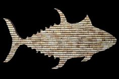 """""""Cork Fish,"""" by Dora Millikin, cork"""