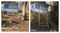 Fin, liten #trapp i #hagen.