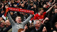 Manchester people  - supporting the team