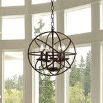 <strong>Theo 5 Light Mini Chandelier</strong> by Warehouse of Tiffany