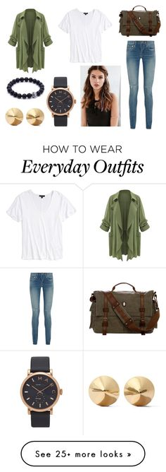 """everyday outfit #1"" by kate-blake on Polyvore featuring Topshop, Yves Saint Laurent, REGALROSE, Marc Jacobs and Eddie Borgo"