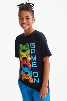 Baby Shirts, Boys T Shirts, Cute Shirts, Shirt Print Design, Shirt Designs, Creepy Kids, T Shirt Painting, Cartoon T Shirts, Stylish Boys