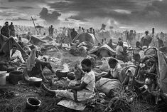 Humanity's spirit and cruelty: Sebastiao Salgado in focus - The Globe and Mail