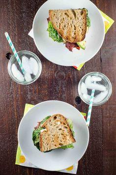 """Grilled Everything"" Turkey BLAT Sandwiches via @umamigirl"