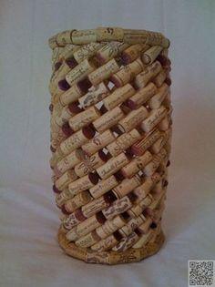 15. Cork #Barrel - 39 Cork Crafts That Will Make You Wish You Drank More Wine ... → DIY #Crafts