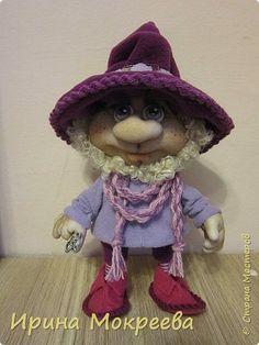 Наконец то выкладываю обещенный МК по гномам . Рост готовой куклы 34 см. фото 34