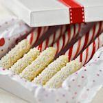 16 candy cane Christmas treats