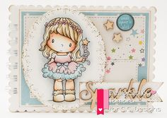 Princess Birgitta, Make a card #1, Make a card #5 #stars, #princess #ccdesigns #handmadebytamara #notebook
