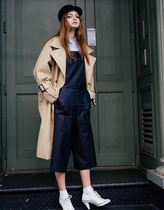 [FRONTROW X LOW CLASSIC] 16SS Oversized Double Button Trench